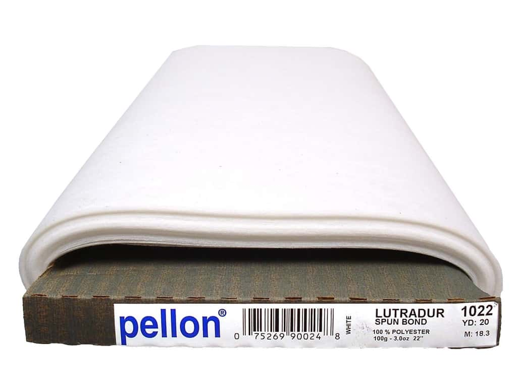 Pellon Lutradur Mixed Media Interfacing 100g 20 in. x 20 yd. White (20 yards)