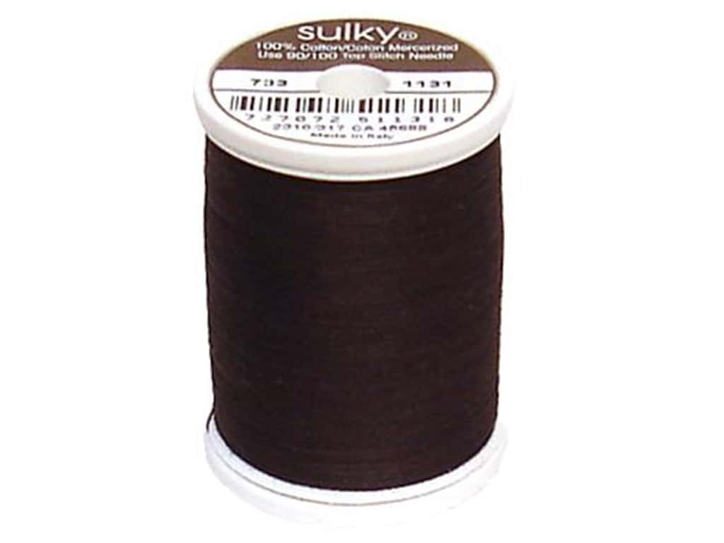 Sulky Cotton Thread 30 wt. 500 yd. #1131 Cloister Brown