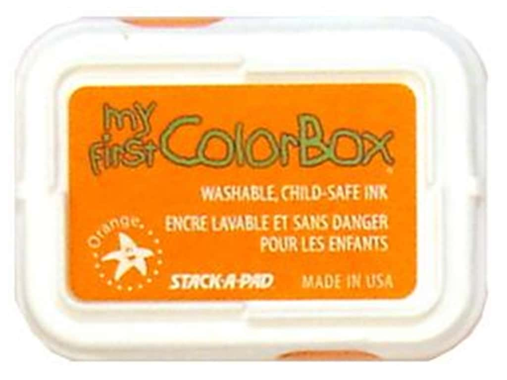 My First ColorBox Dye Ink Pad Orange