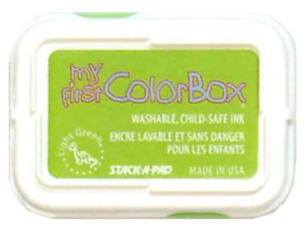 My First ColorBox Dye Ink Pad Light Green