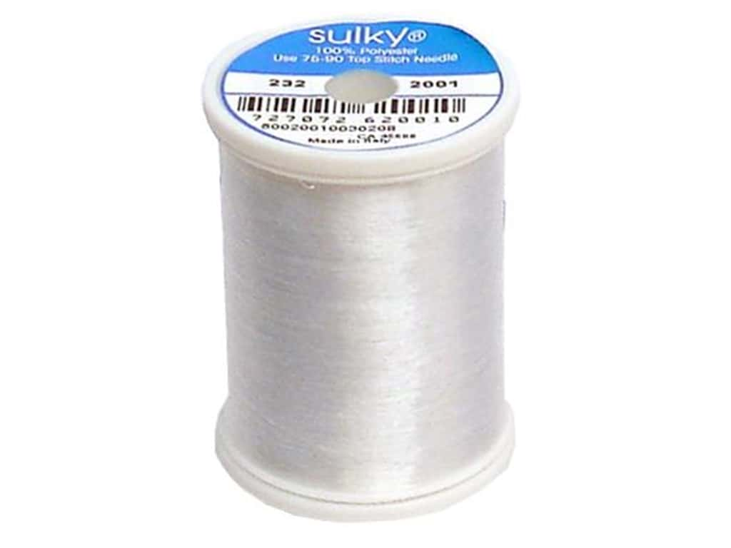 Sulky Invisible Thread .004 2200 yd. Clear