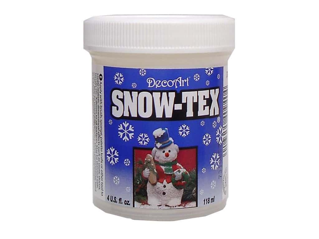 DecoArt Snow-Tex 4 oz.