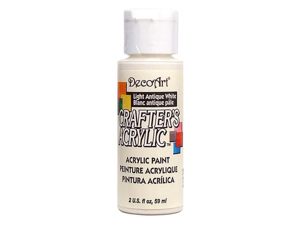DecoArt Crafter's Acrylic Paint 2 oz. #2 Light Antique White
