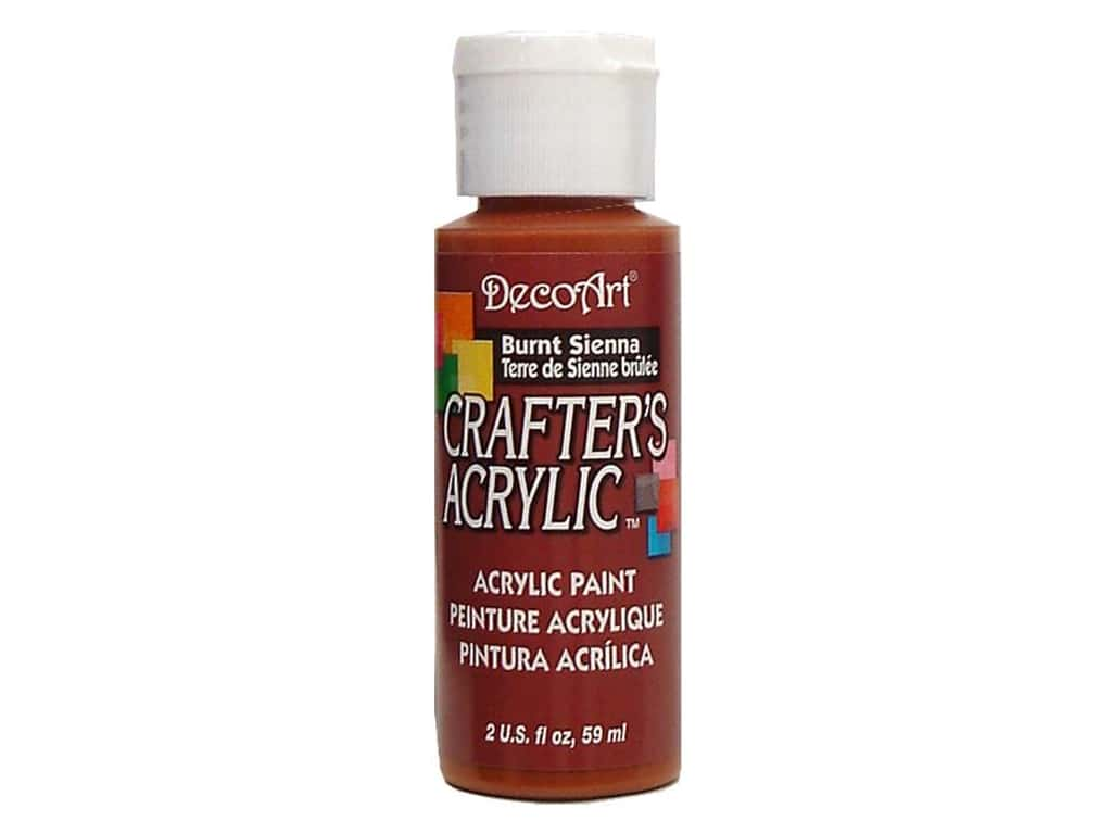 DecoArt Crafter's Acrylic Paint - #11 Burnt Sienna 2 oz.