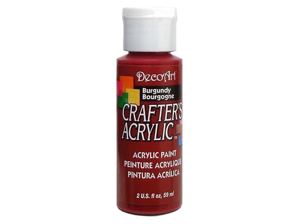 DecoArt Crafter's Acrylic Paint 2 oz. #23 Burgundy