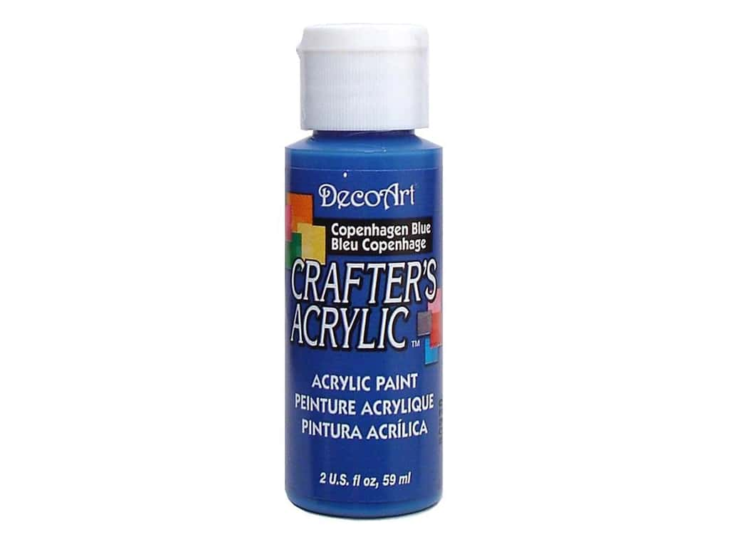 DecoArt Crafter's Acrylic Paint 2 oz. #30 Copenhagen Blue