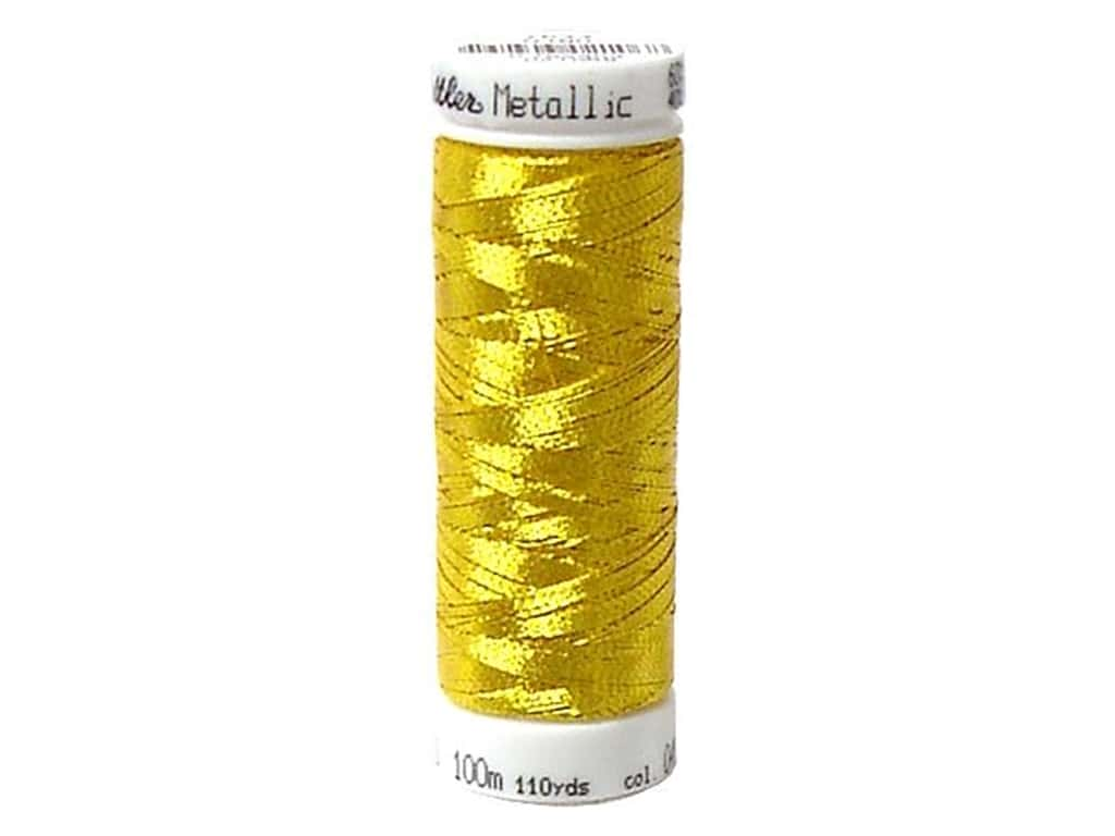 Mettler Metallic Thread 40 wt. 110 yd. #490 Bright Gold