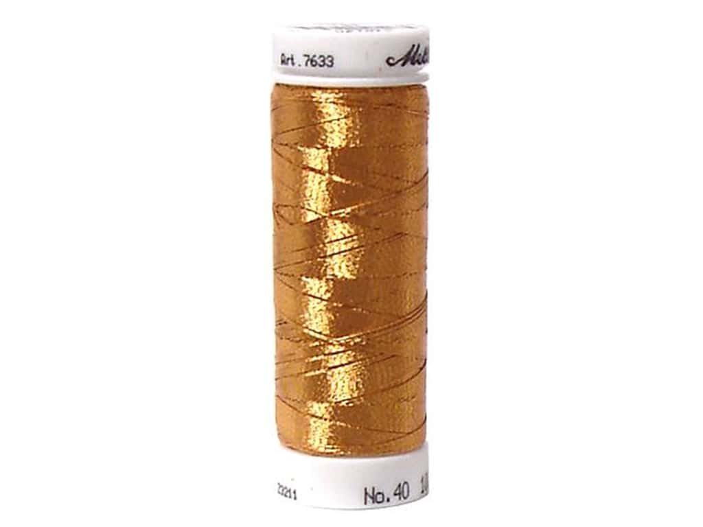 Mettler Metallic Thread 40 wt. 110 yd. #1134 Copper Gold