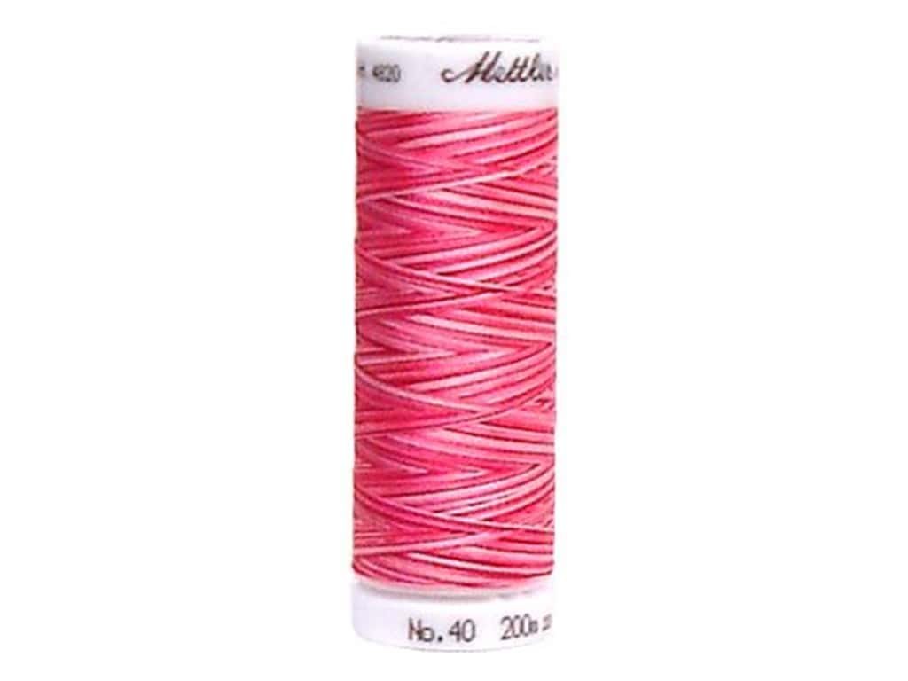 Mettler PolySheen Embroidery Thread 220 yd. #9923 Variegated Lipstick Pinks