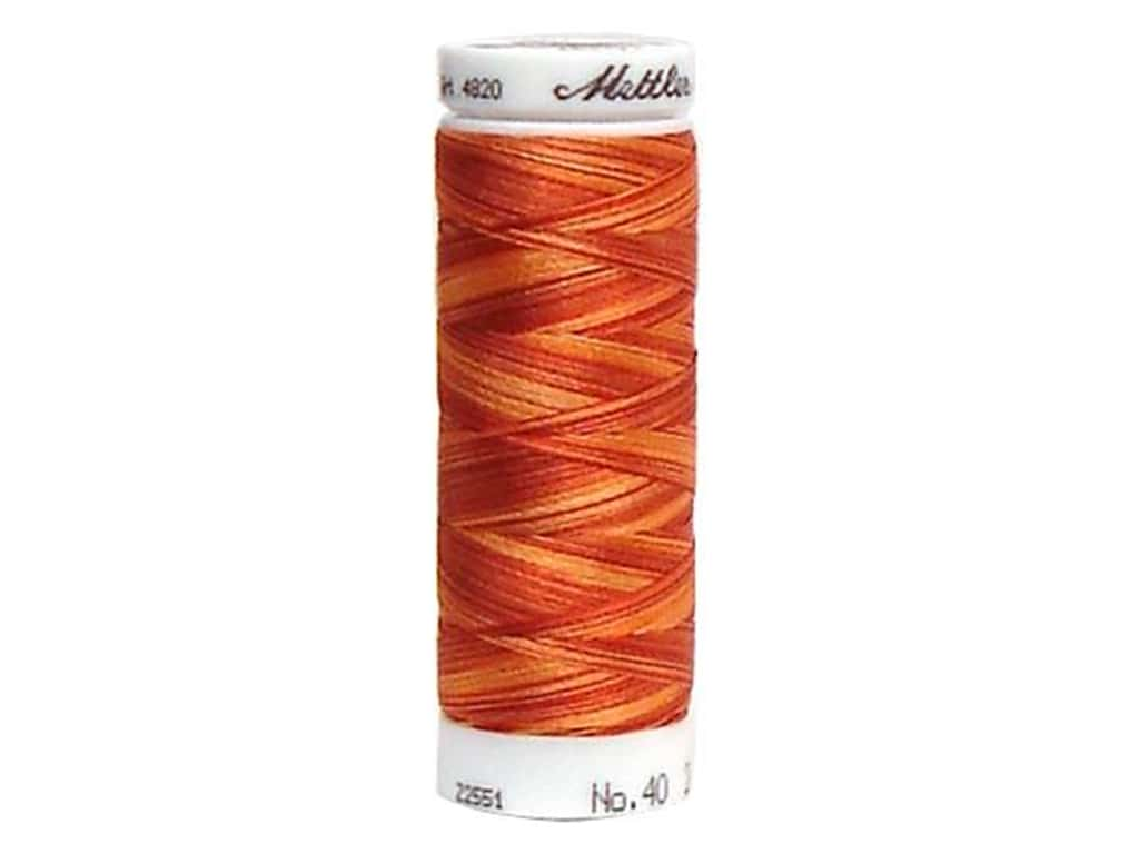 Mettler PolySheen Embroidery Thread 220 yd. #9934 Variegated Fire Flame