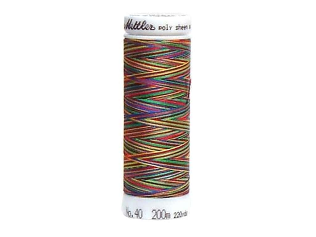 Mettler PolySheen Embroidery Thread 220 yd. #9937 Variegated Primary Mix