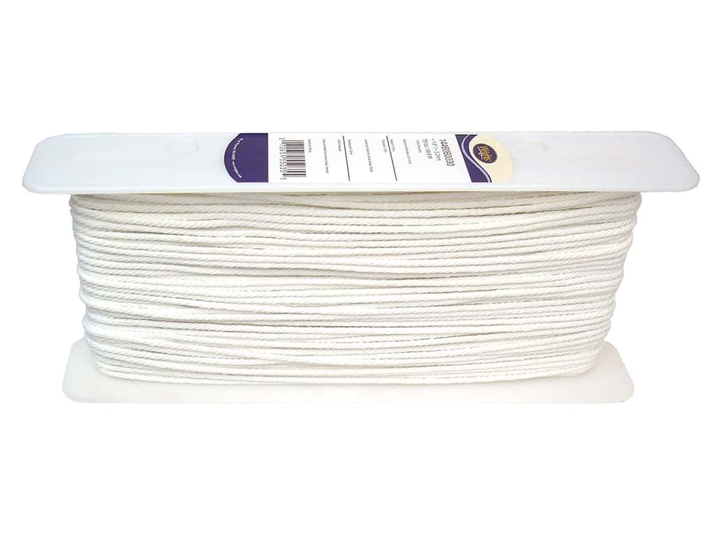 Wrights Cable Cord 1/8 in. White (75 yards)