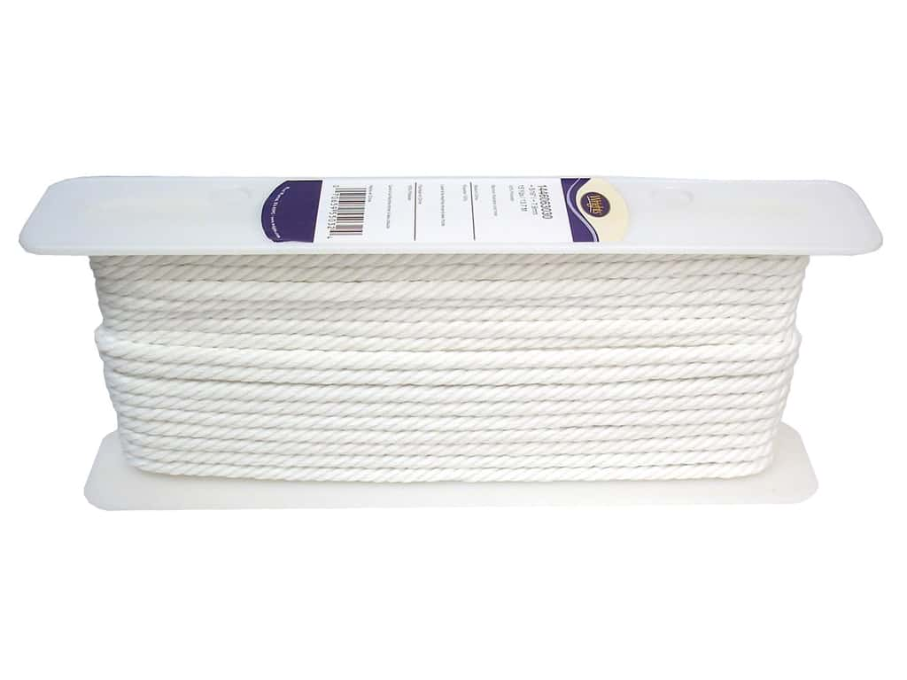 Wrights Cable Cord 5/16 in. White (15 yards)