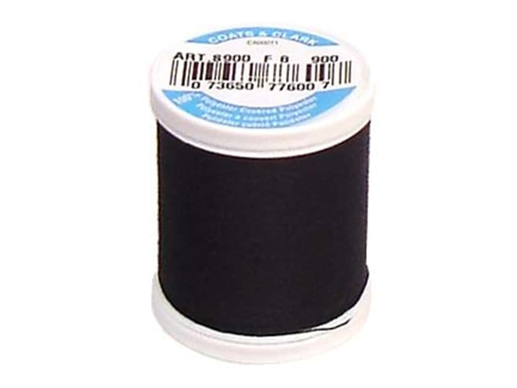 Coats & Clark Dual Duty XP All Purpose Thread 125 yd. #900 Black