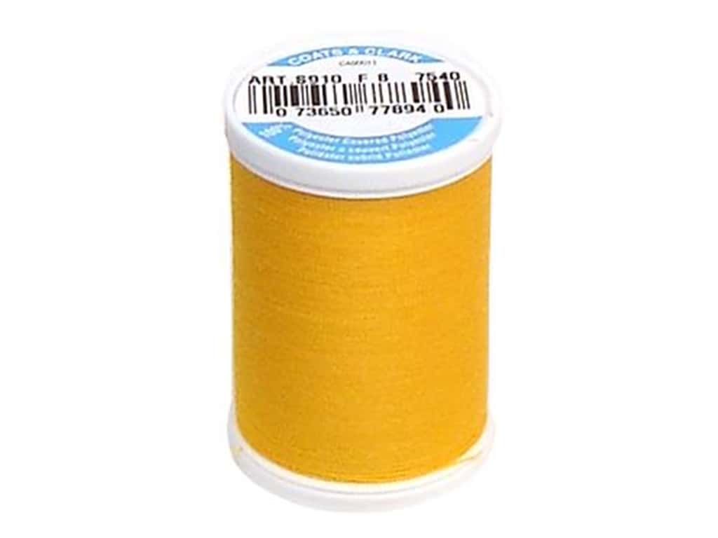 Coats & Clark Dual Duty XP All Purpose Thread 250 yd. #7540 Goldenrod