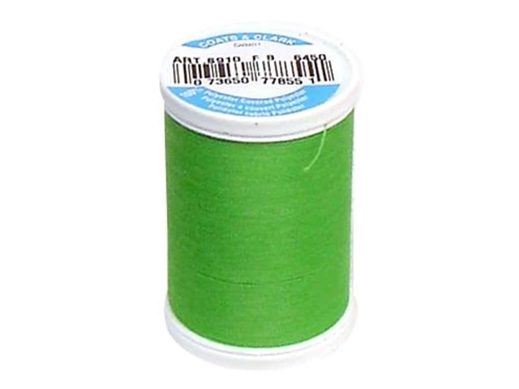 Coats & Clark Dual Duty XP All Purpose Thread 250 yd. #6450 Bright Green