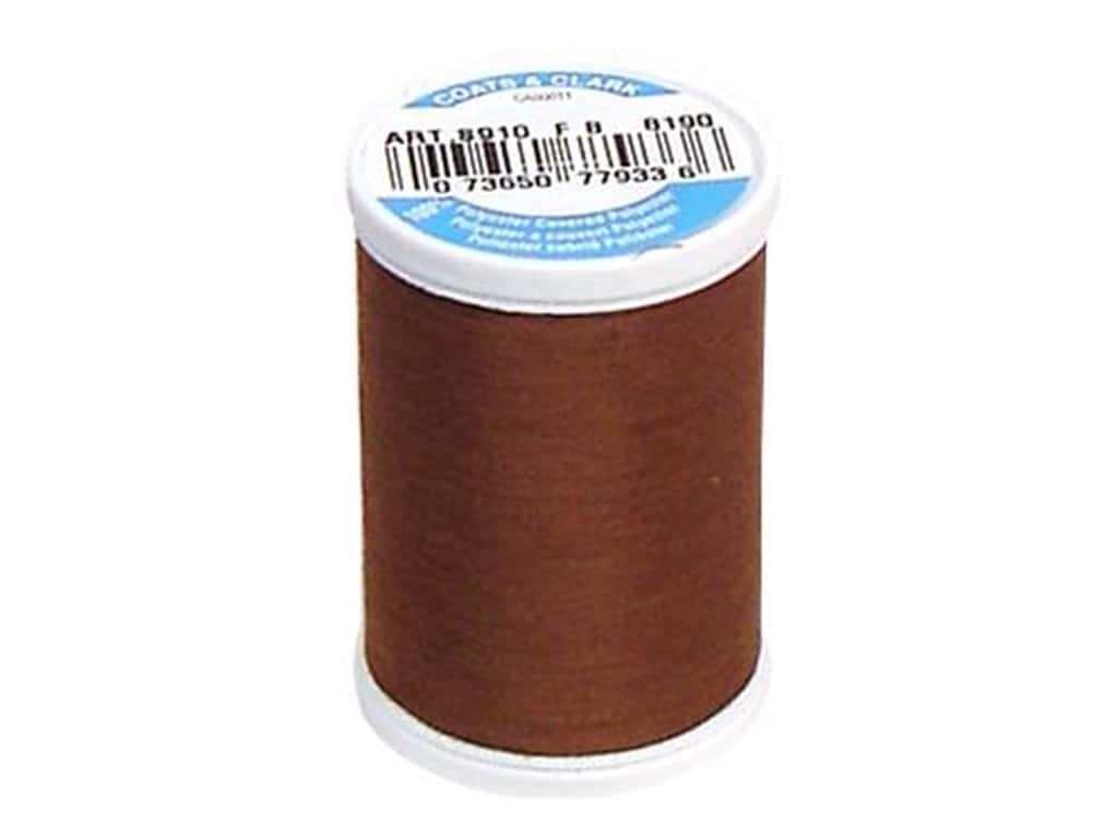 Coats & Clark Dual Duty XP All Purpose Thread 250 yd. #8190 Brown Chestnut