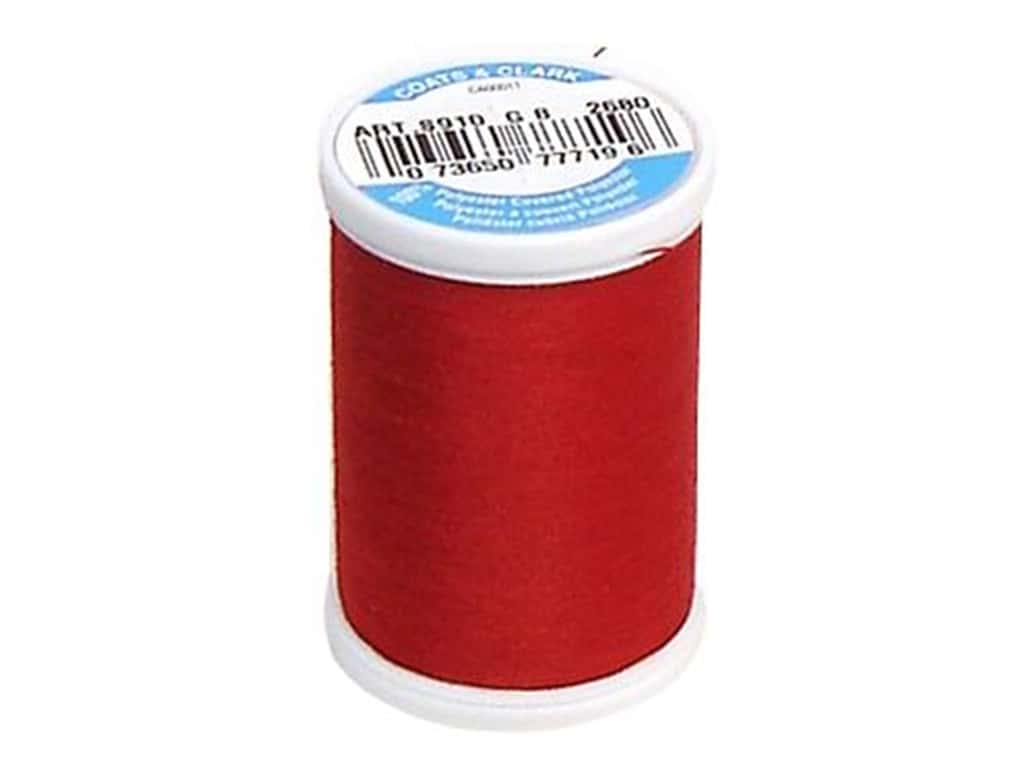 Coats & Clark Dual Duty XP All Purpose Thread 250 yd. #2680 Red Cherry