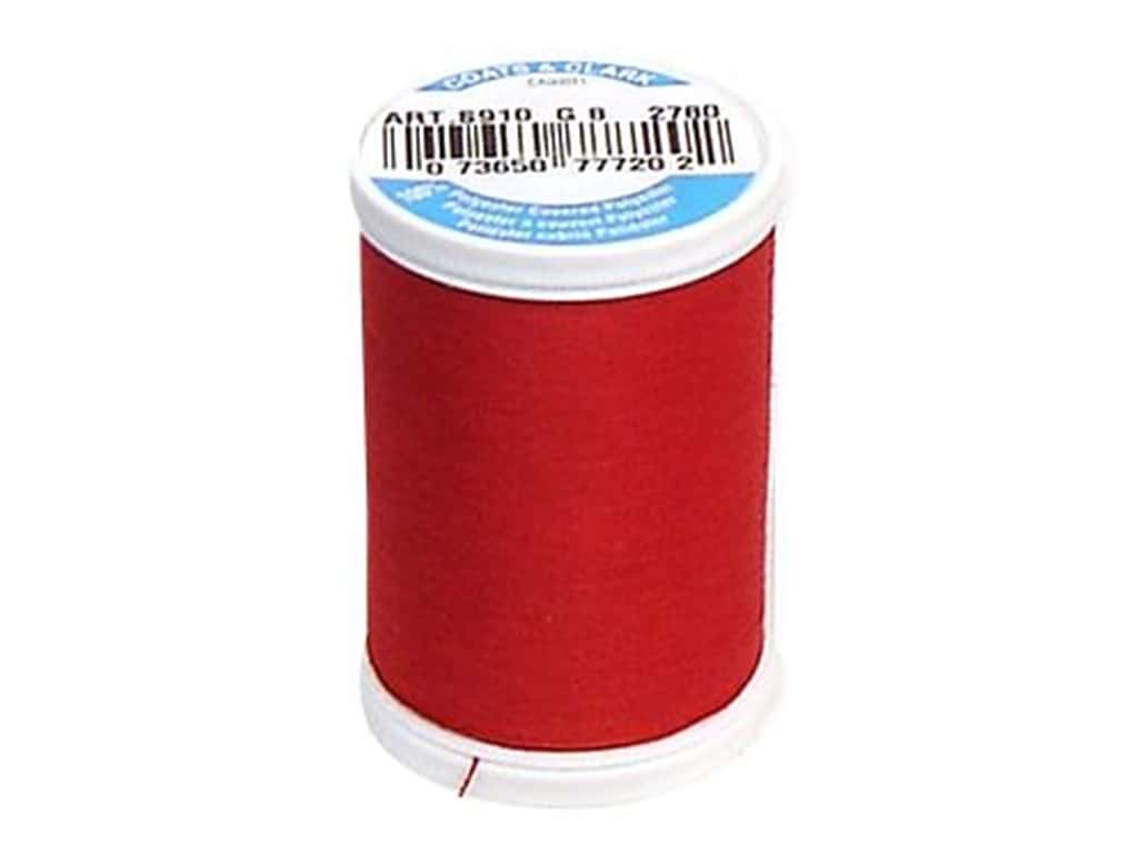 Coats & Clark Dual Duty XP All Purpose Thread 250 yd. #2780 Scarlet