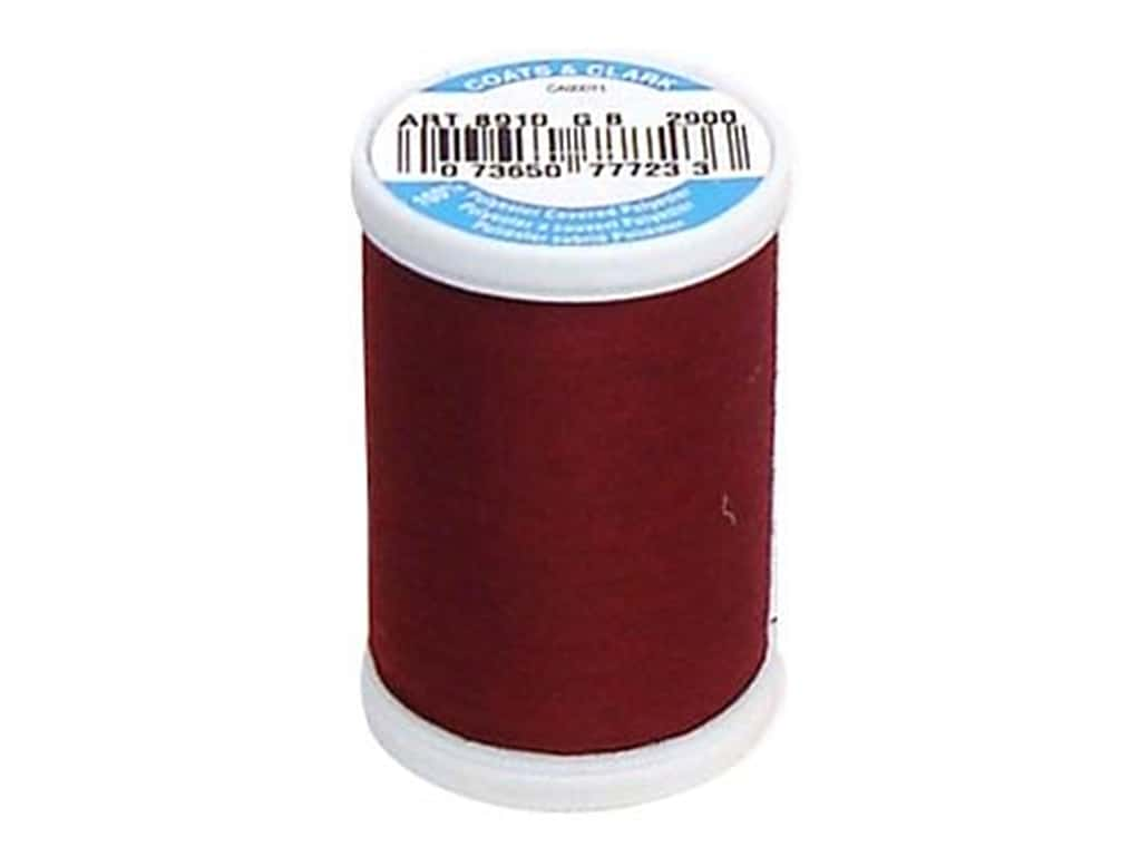 Coats & Clark Dual Duty XP All Purpose Thread 250 yd. #2900 Dark Red