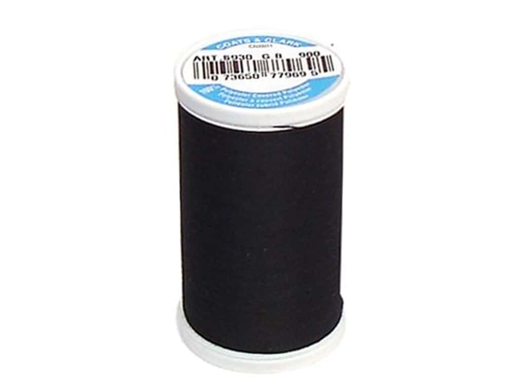 Coats & Clark Dual Duty XP All Purpose Thread  500 yd. #900 Black