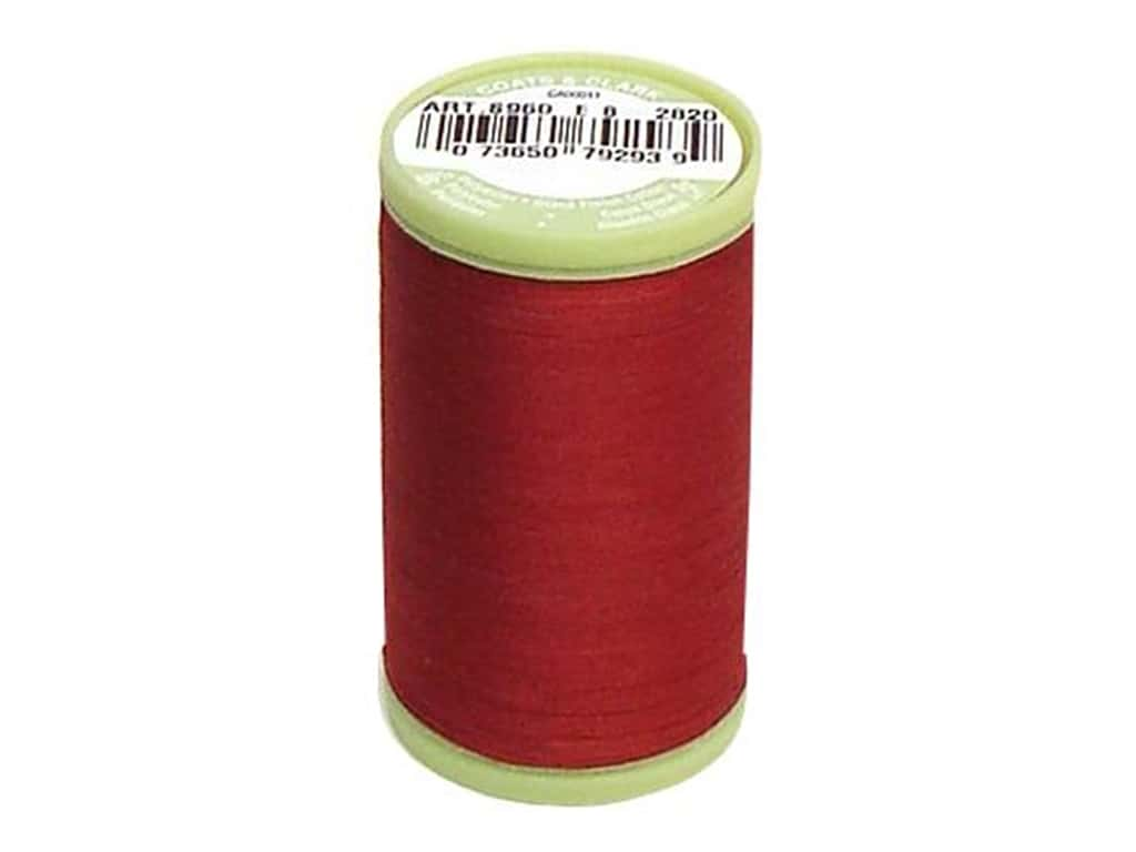 Dual Duty Plus Hand Quilting Thread 325 yd. - #2820 Barberry Red