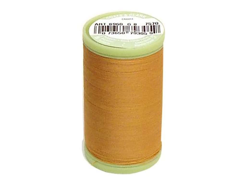 Dual Duty Plus Hand Quilting Thread 325 yd. #7570 Mine Gold