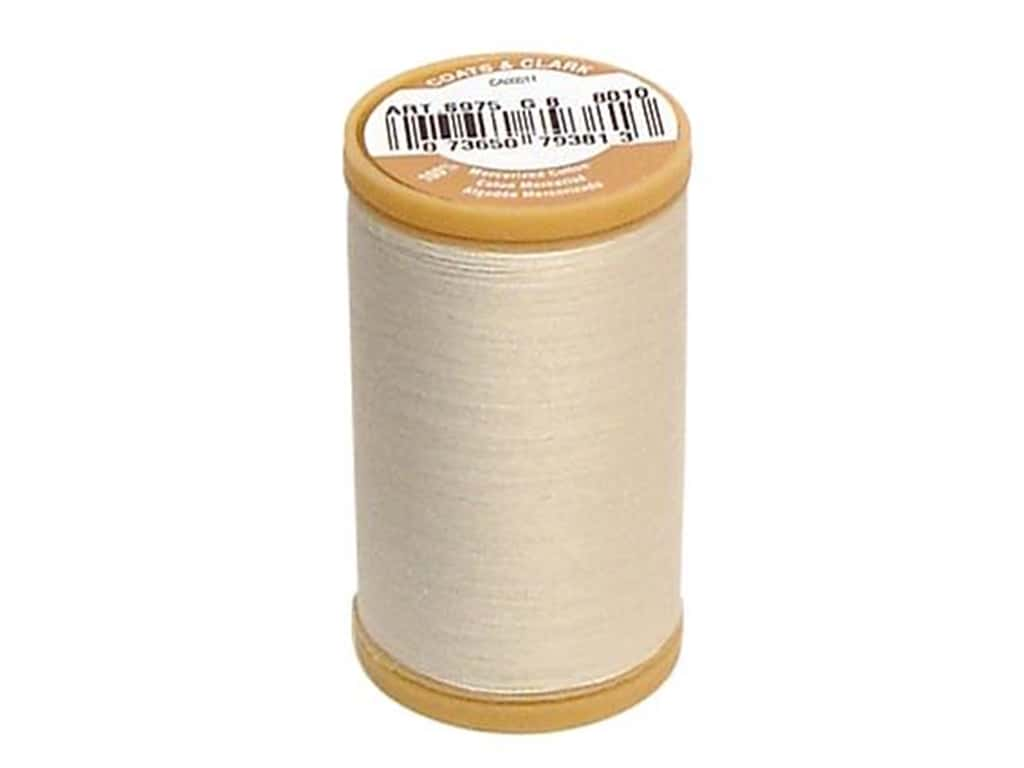 Coats Cotton Machine Quilting Thread #8010 Natural 350 yd.
