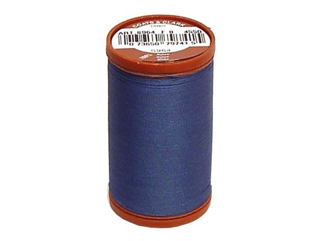 Coats Extra Strong Upholstery Nylon Thread 150 yd. #4550 Soldier Blue