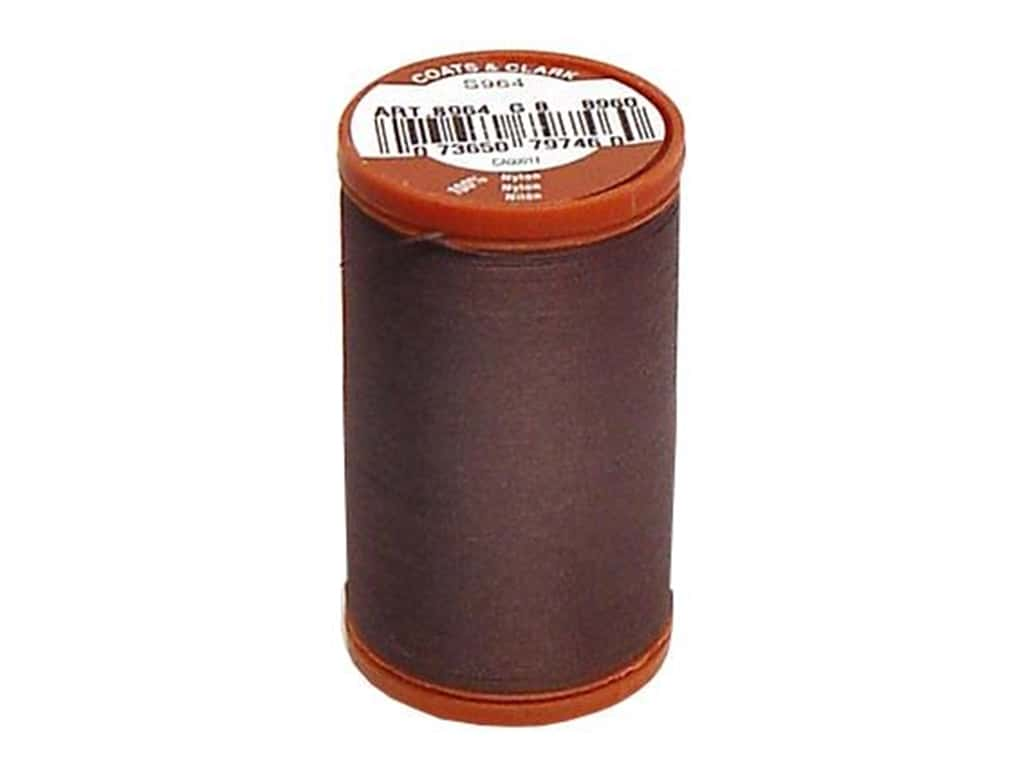 Coats Extra Strong Upholstery Nylon Thread 150 yd. #8960 Chona Brown