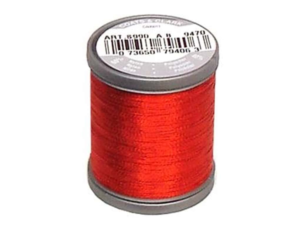 Coats Metallic Thread 125 yd. Ruby
