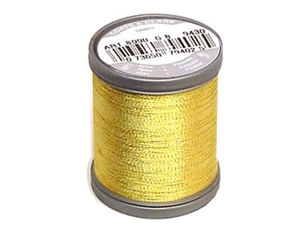 Coats Metallic Thread 125 yd. Bright Gold
