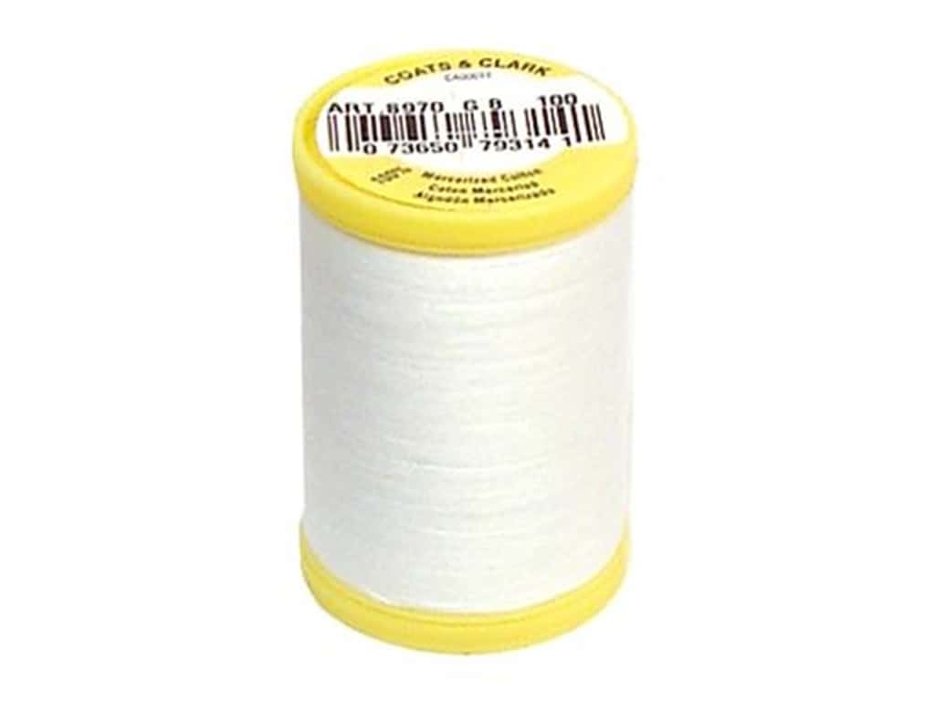 Coats All Purpose Cotton Thread 225 yd. #100 White