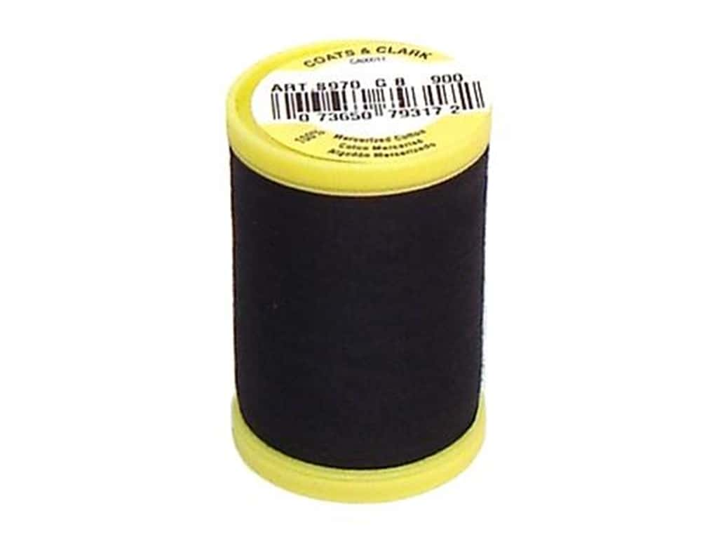 Coats All Purpose Cotton Thread 225 yd. #900 Black
