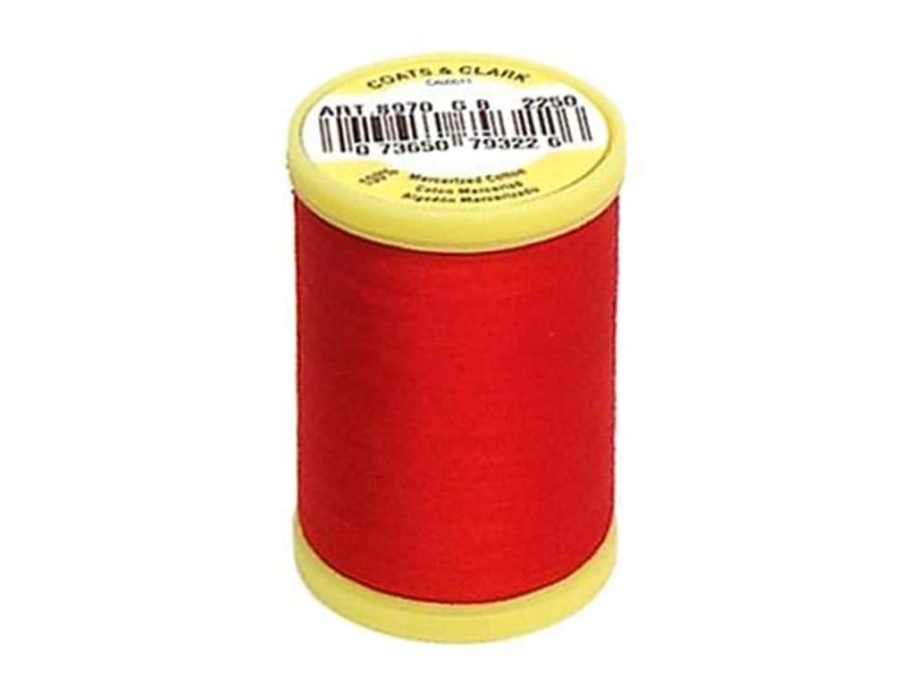 Coats All Purpose Cotton Thread 225 yd. #2250 Red