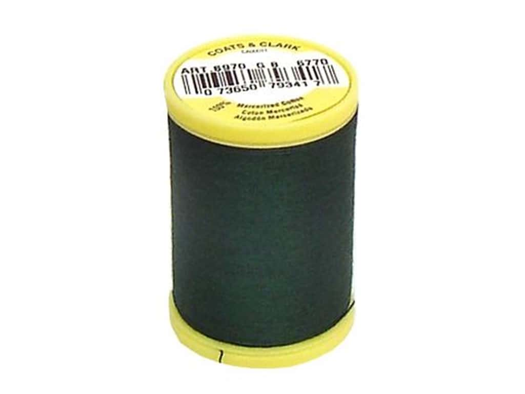 Coats All Purpose Cotton Thread 225 yd. #6770 Forest Green