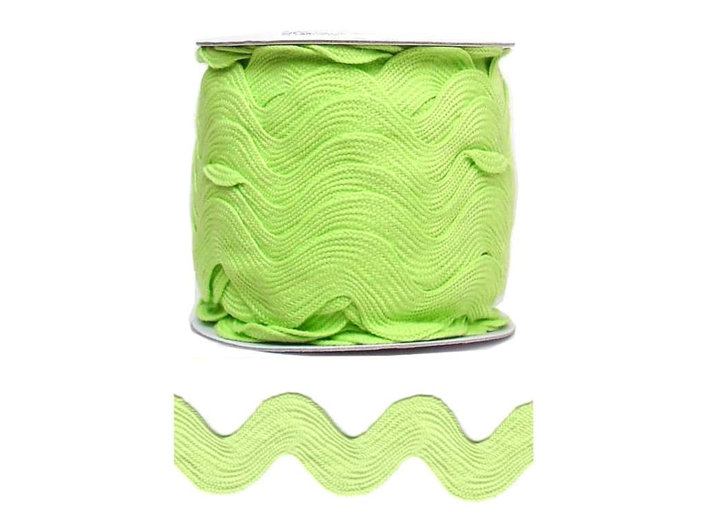 Cheep Trims Jumbo Ric Rac 1 13/32 in. Apple (24 yards)