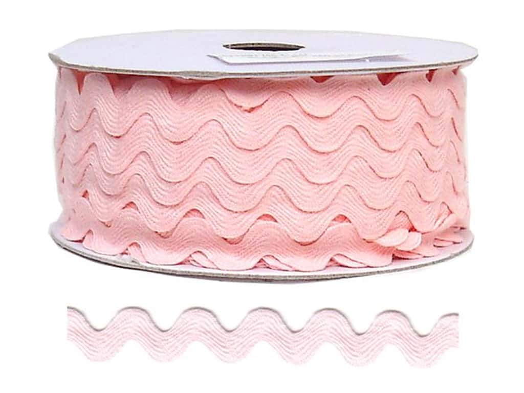 Cheep Trims Ric Rac 11/16 in. Light Pink (24 yards)