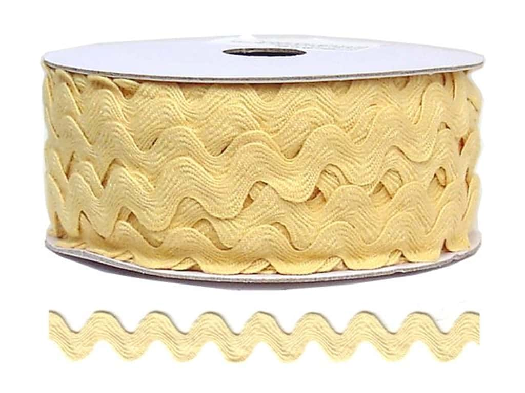 Cheep Trims Ric Rac 11/16 in. Butter (24 yards)