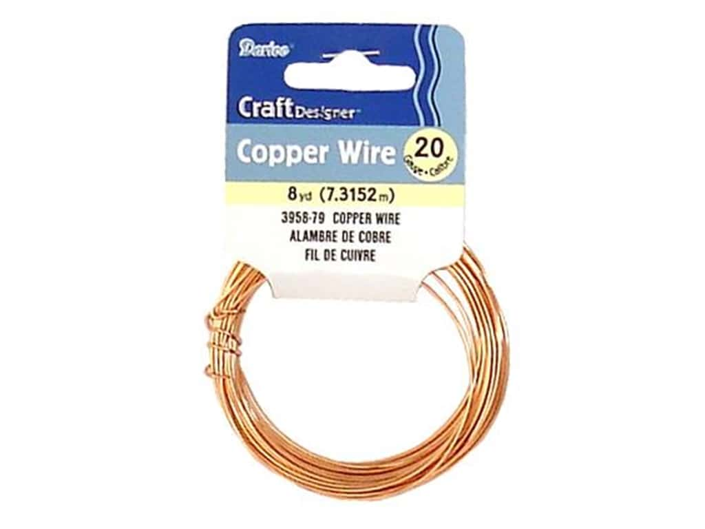 Darice Copper Craft Wire 20 ga. 8 yd. Copper