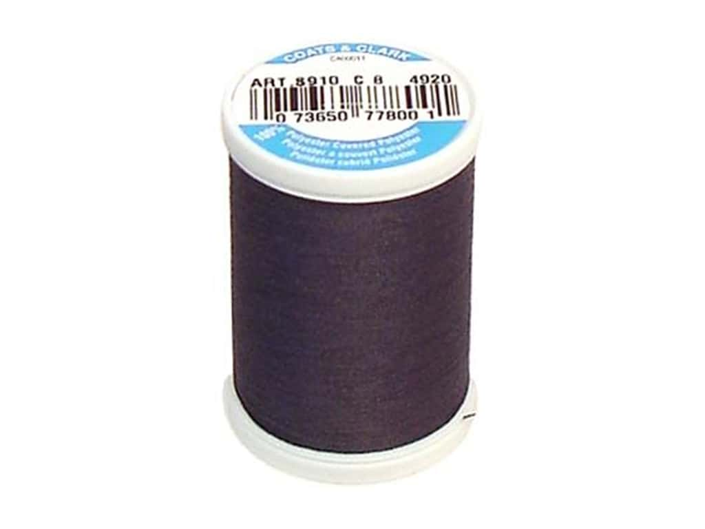 Coats & Clark Dual Duty XP All Purpose Thread 250 yd. #4920 Gunmetal Navy