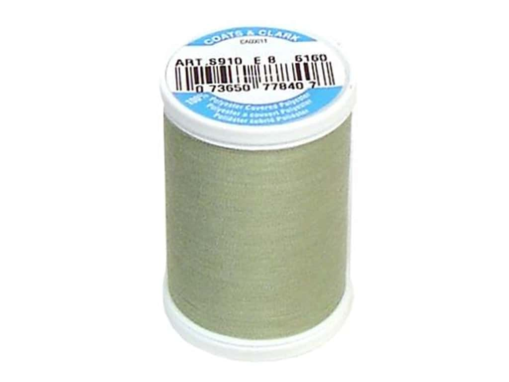 Coats & Clark Dual Duty XP All Purpose Thread 250 yd. #6160 Light Green Linen