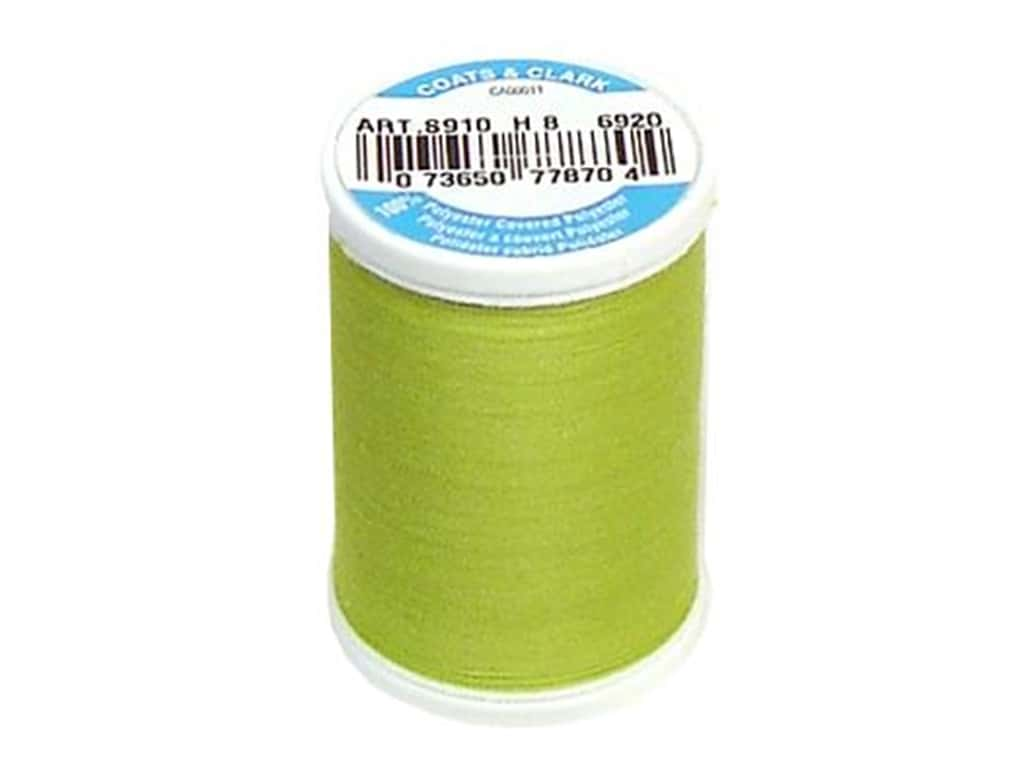 Coats & Clark Dual Duty XP All Purpose Thread 250 yd. #6920 Chartreuse
