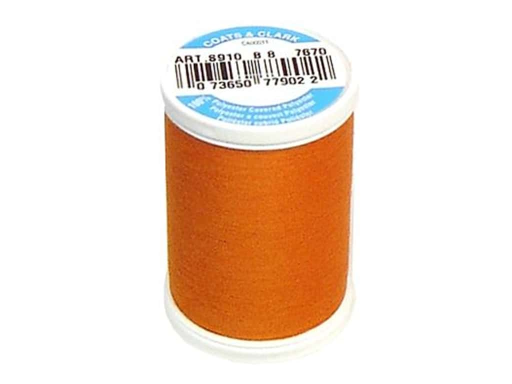 Coats & Clark Dual Duty XP All Purpose Thread 250 yd. #7670 Burnt Orange