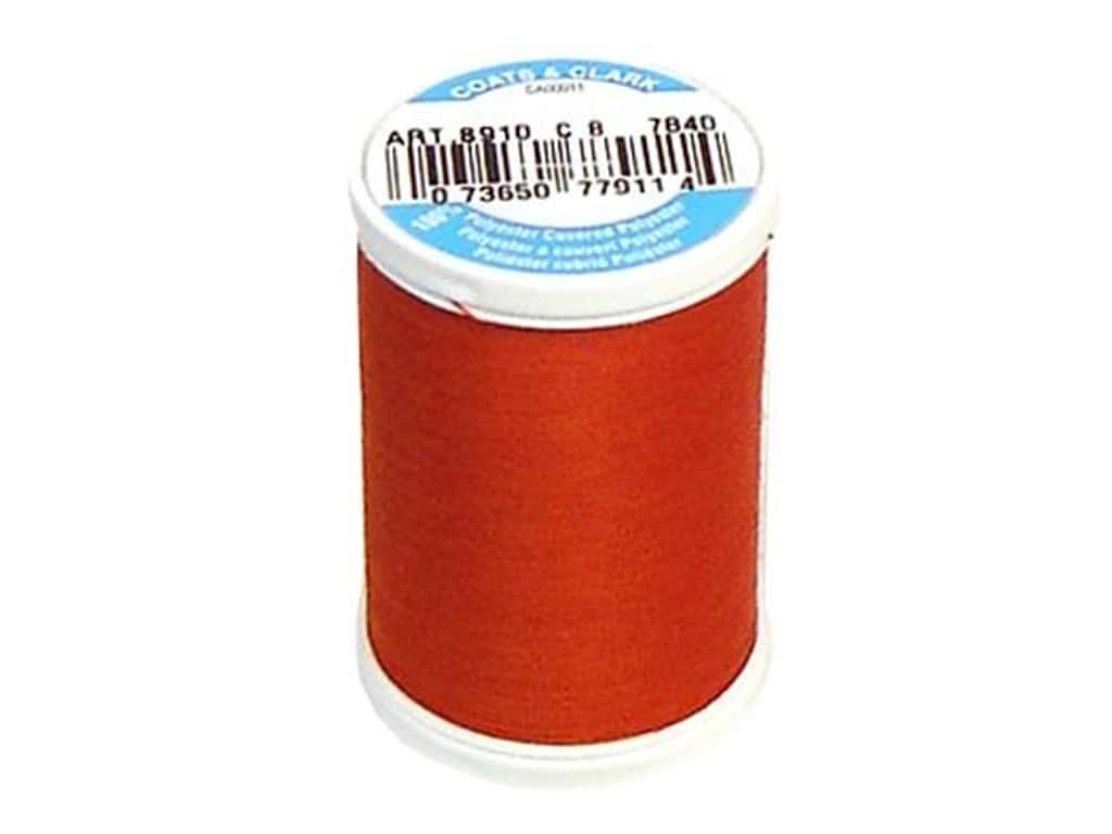 Coats & Clark Dual Duty XP All Purpose Thread 250 yd. #7840 Paprika