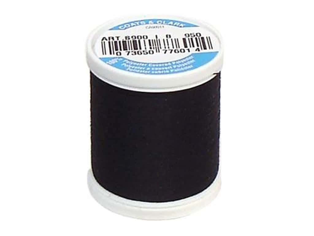 Coats & Clark Dual Duty XP All Purpose Thread 125 yd. #950 Celestial Black