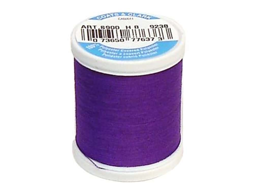 Coats & Clark Dual Duty XP All Purpose Thread 125 yd. #9238 Bright Deep Purple