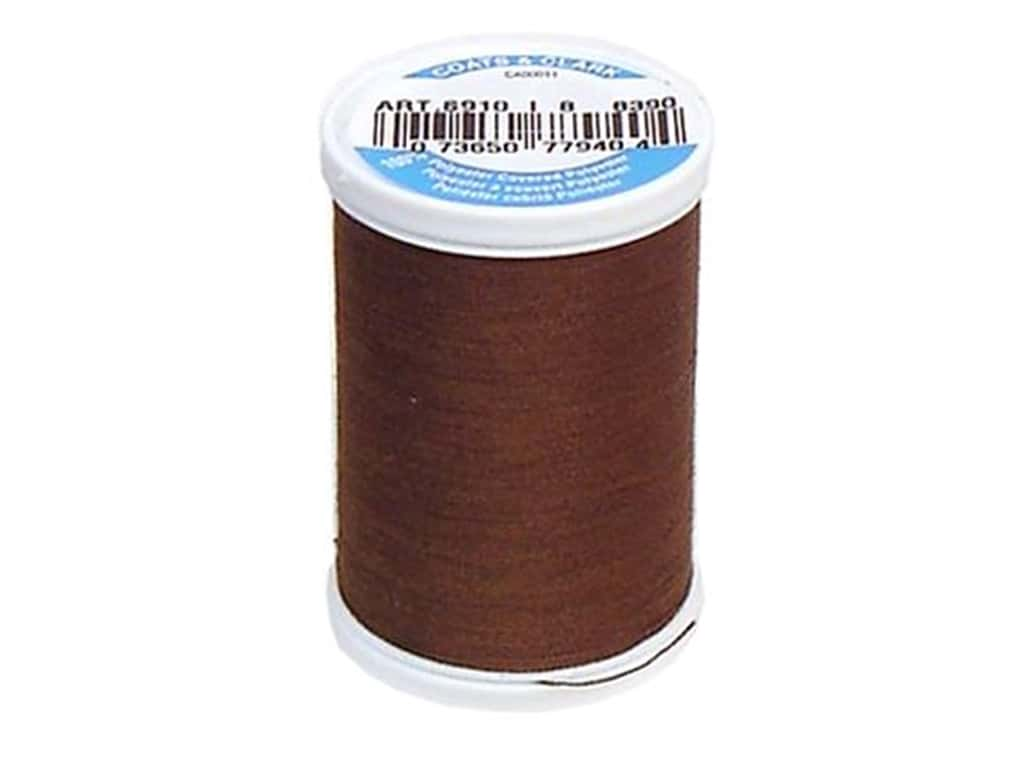 Coats & Clark Dual Duty XP All Purpose Thread 250 yd. #8390 Espresso