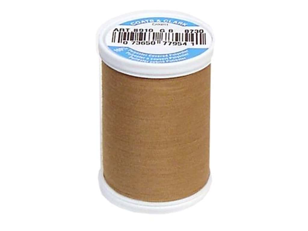 Coats & Clark Dual Duty XP All Purpose Thread 250 yd. #8730 Brown Sugar
