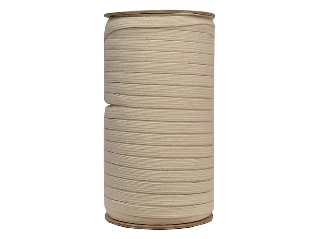 Conrad Jarvis Cotton Swim Elastic Reel 3/8 in x 144 yd Natural (144 yards)